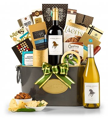 Wine Baskets: Rest and Relaxation Wine Basket