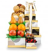 Gift Towers: Golden Bounty Fruit Tower