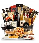 Wine Baskets: The Ambassador Wine Gift Basket