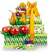 Gift Towers: Fruit and Gourmet Tower