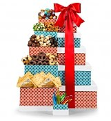 Gift Towers: Select Cheese and Nuts Gift Tower