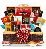 Luxury Gift Baskets: Bon Appetit Gourmet Gift Basket