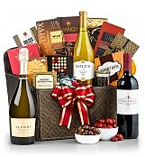 Luxury Wine Baskets: Premier Selections Wine Gift Basket