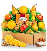 Fruit Gift Baskets: Fresh Fruit & Classic Cookies