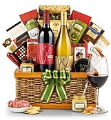 Wine Baskets: Country Estate Wine Duo